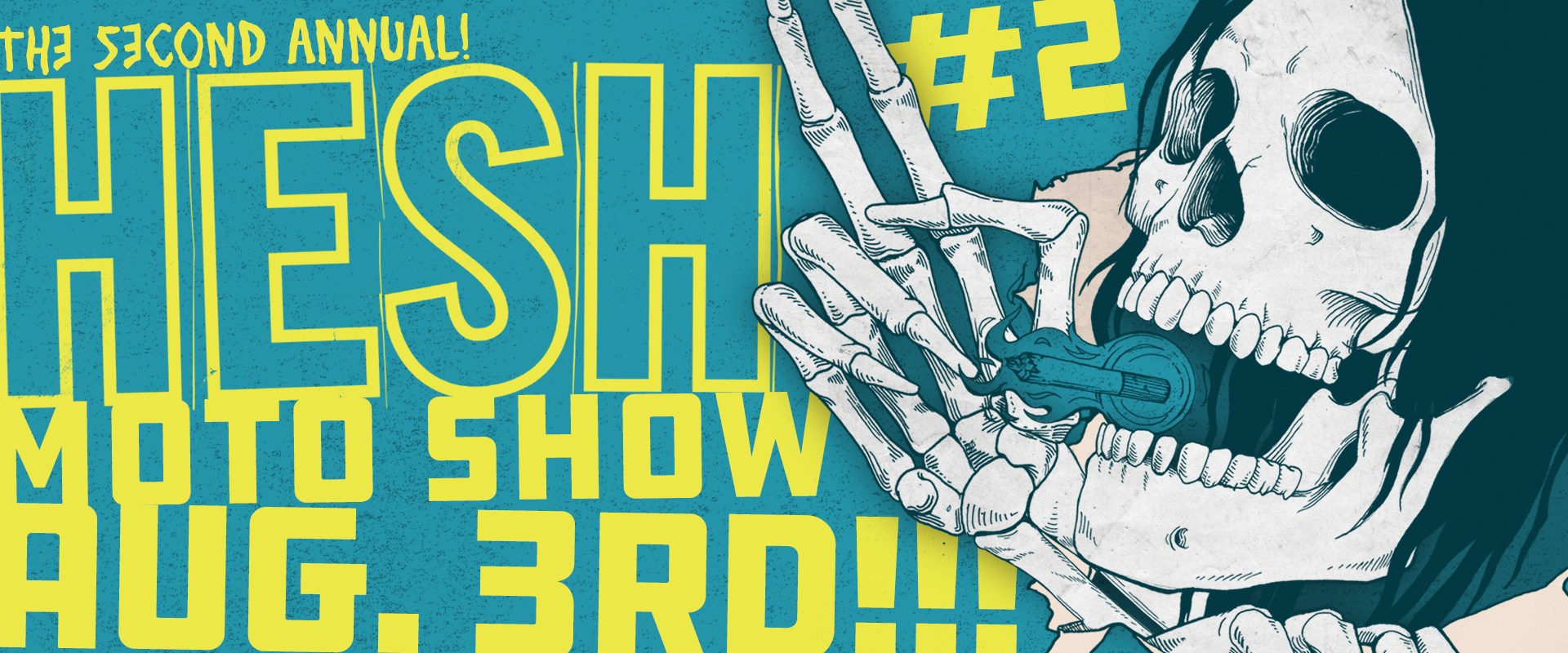 Second Annual Hesh Moto Show: August 3, 2019